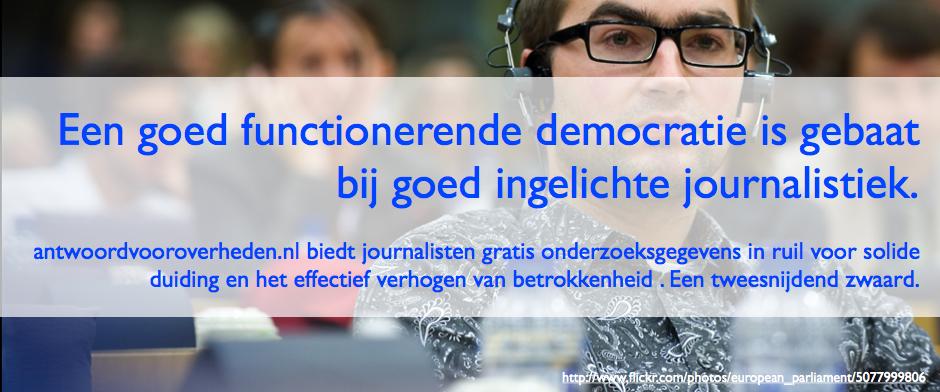 Gratis onderzoeksgegevens voor journalisten